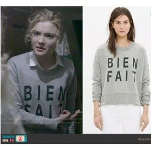 Madewell Bien Fait Crewneck Sweatshirt